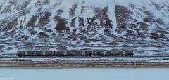 Scotrail Sprinter @ The Pass of Drumochter.