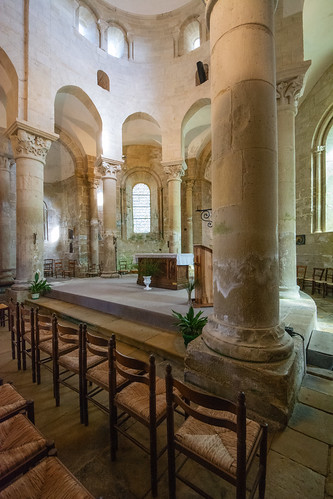 Chancel, Church at Saint-Robert, Correze, SW France