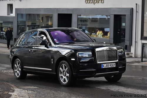 Rolls-Royce Cullinan - Germany, Cologne