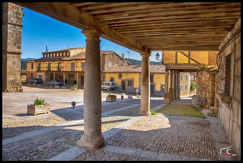 Plaza de Bonilla de La Sierra (Ávila)