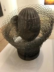 'Armoured Head' by Liliane Lijn, Tate Britain