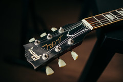 Old Gibson Les Paul headstock