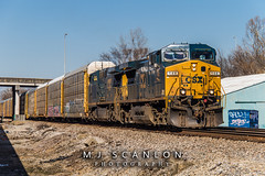 CSXT 146 | GE AC4400CW | CN Shelby Subdivision