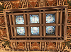 Library of Congress ~ Greal Hall ceiling
