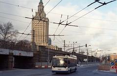 Moscow trolleybus 9307 2020-02 Kazanskiy vokzal