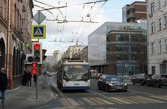 Moscow trolleybus 9349 2020-02 Новорязанская улица
