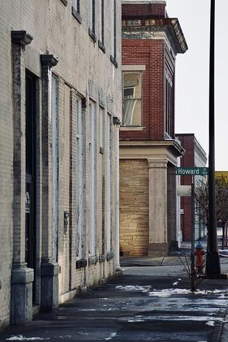 Howard Street - Rocky Mount NC buildings