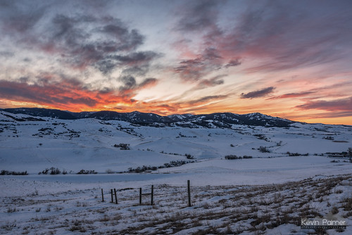 Sunset at Massacre Hill