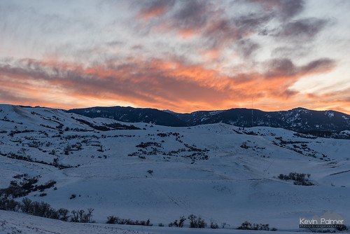 Lodge Trail Ridge Sunset