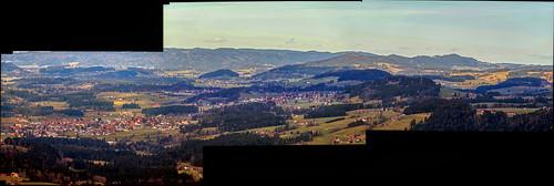 Panorama of Weiler and Simmerberg