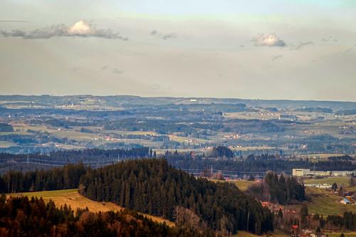 View towards the Württemberger Allgäu