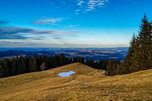View towards Lindenberg