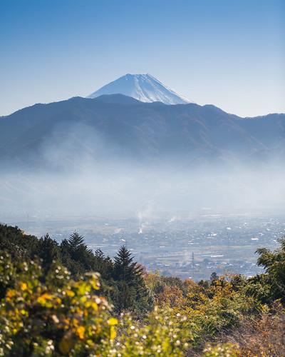 Mount Fuji over Minami