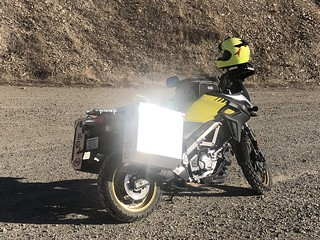 My shining motorcycle