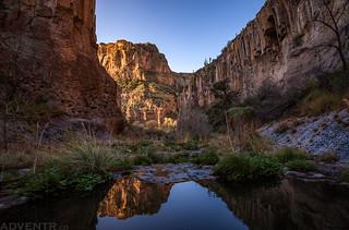 Horse Camp Canyon Reflection