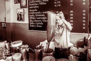 Local coffee shop, Bangkok