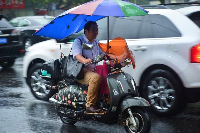 Shanghai - More Heavy Rain