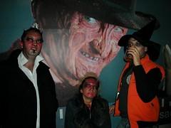 Freddy Krueger with my friends