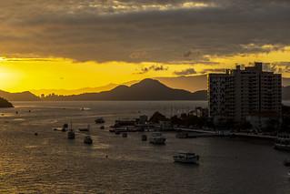 Santos at Sunset