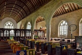 St Nonna's Church, Altarnun, Cornwall - interior