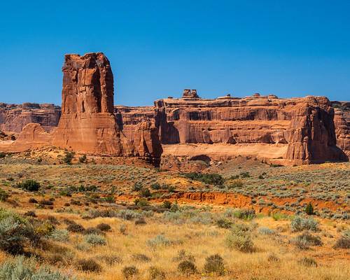 Arches National Park   |   Courthouse Towers District