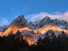 Abendrot, Berg Yokodake