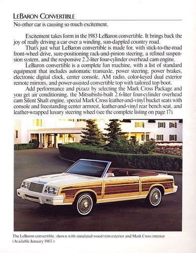 1983 LeBaron Convertible