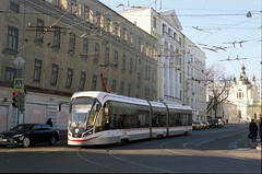 Moscow tram 2020-02