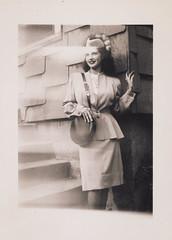 Clara in 1947, the Bronx