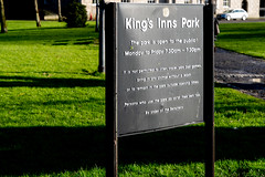 KINGS INNS [AND KINGS INNS PUBLIC PARK]-160484