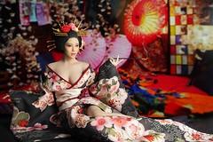 SUPER DUCK SUD SET052 Kimono Set   06
