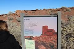 the pueblo of Wukoki sign