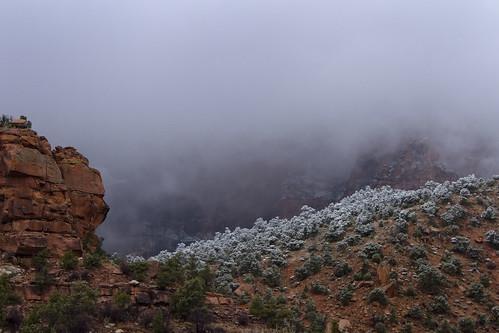 Christmas in Zion National Park, Utah