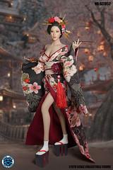 SUPER DUCK SUD SET052 Kimono Set   08