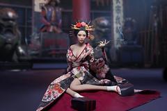 SUPER DUCK SUD SET052 Kimono Set   05