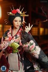 SUPER DUCK SUD SET052 Kimono Set   01
