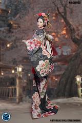 SUPER DUCK SUD SET052 Kimono Set   04