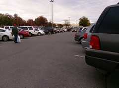 I know dude, I've never seen this many vehicles at the Wolfchase Sears either!