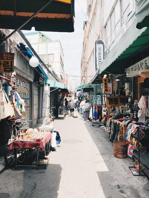 Flea Market, Seoul, South Korea