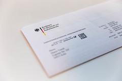 Ein Brief vom Bundesamt für Wirtschaft und Ausfuhrkontrolle vor weißem Hintergrund