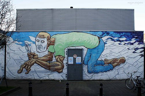 Street Art Ghent, Belgium (A squid called Sebastian)