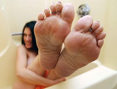 Sexy Texas Foot Model Alicia