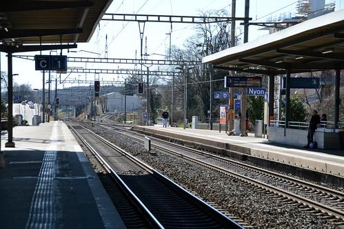 Bahnhof Nyon