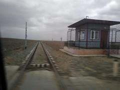RZD Yandyki - Port Olya railway 2020-02