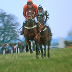 Racing at Ludlow by Bill Wastell