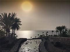 Fuerteventura 2020 - Sonnenaufgang vor dem Sandsturm