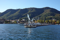 """Life Electric"" sculpture @ Cruise on Lake Como"
