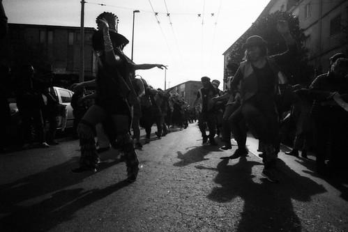 Napoli, Carnevale di Scampia. Febbraio 2020.