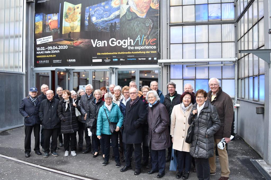2020, Februar Old Boys Van Gogh Alive