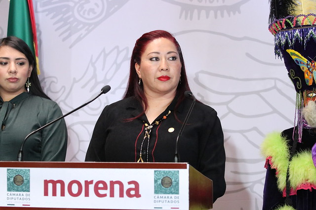 25/02/2020 Conferencia de Prensa Dip. Guadalupe Ramos Sotelo